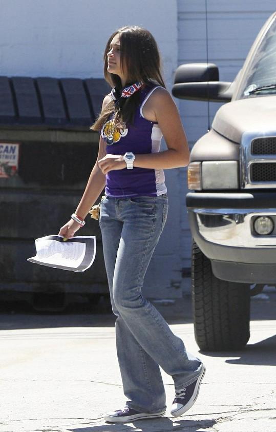 Krásná dcera popového krále Michaela Jacksona roste do krásy.