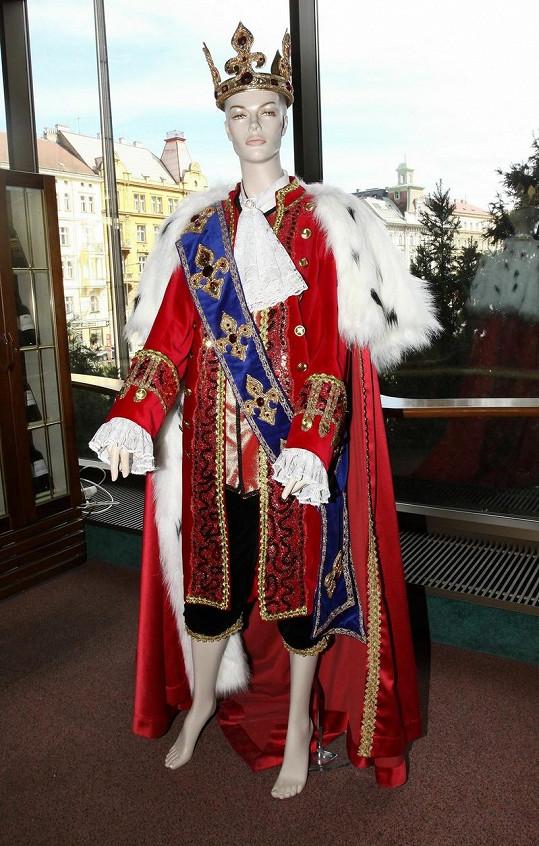 Kostýmy z muzikálu Popelka.
