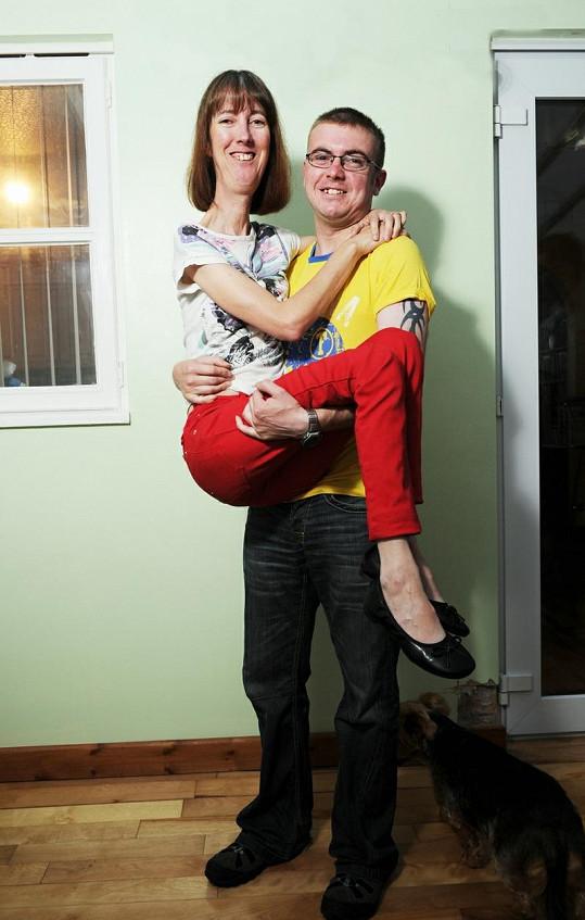 Carole se synem Neilem.