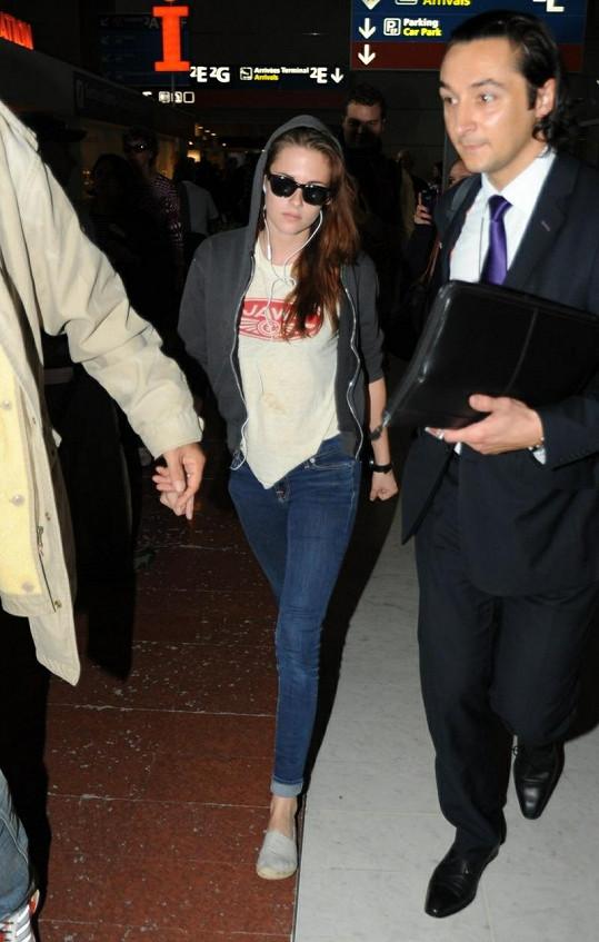Kristen v Paříži.