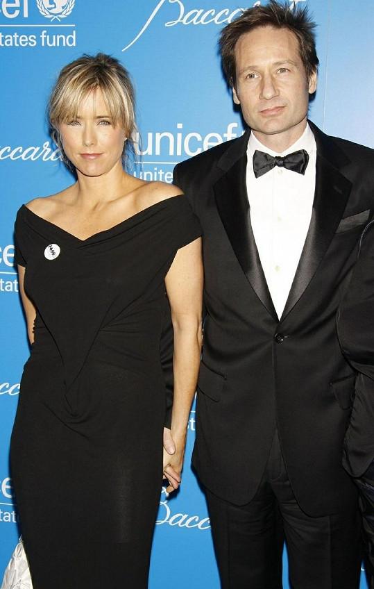 David Duchovny a Téa Leoni.