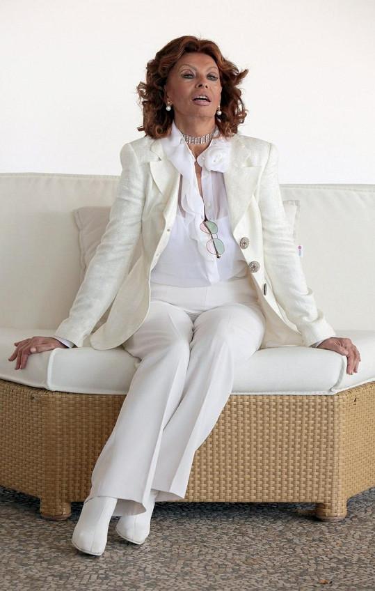 Na začátku února zavítá do Prahy Sophia Loren.