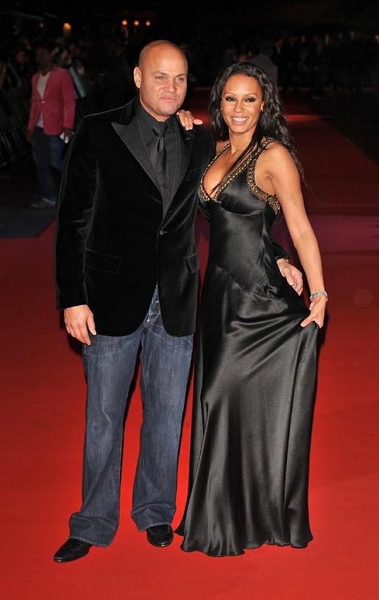 Mel B a její manžel Stephen Belafonte.