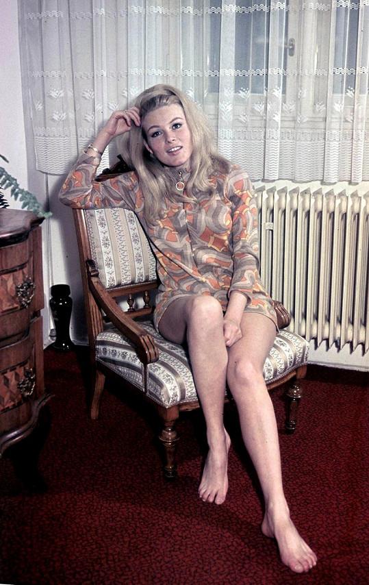 Nohy Olgy Schoberové se objevily i na titulce Playboye.