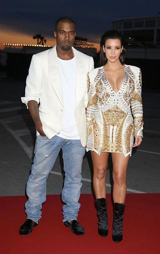 Kim a Kanye jsou v současnosti nejsledovanějším párem.