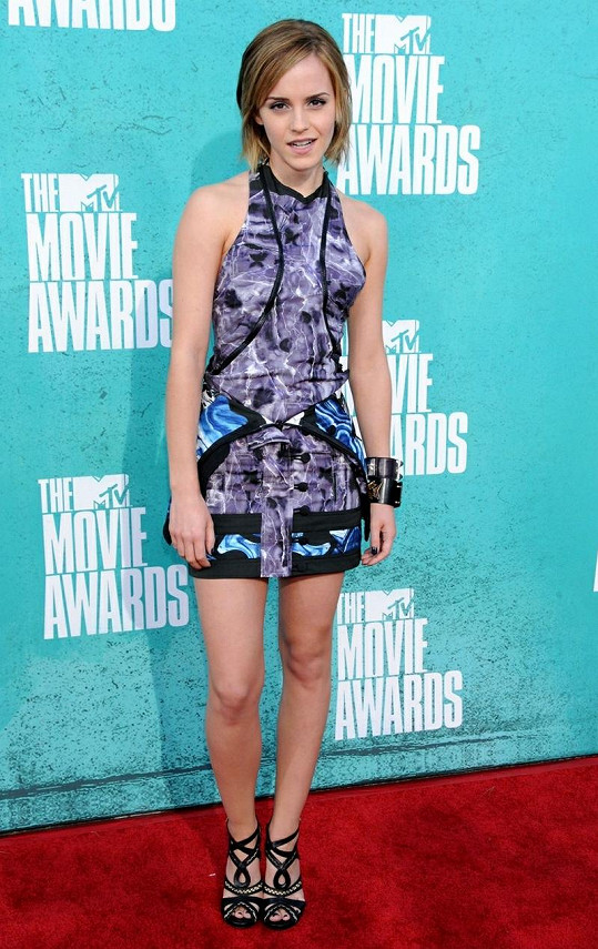 Emma Watson ráda střídá účesy.