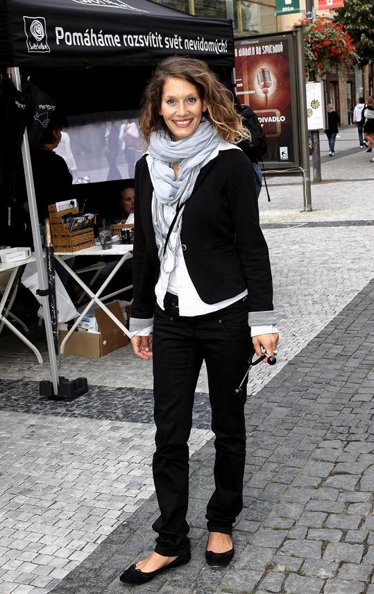 Barbora Seidlová má svůj styl.