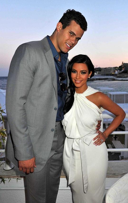 Bratr Kaely Kris Humphries a jeho bývalá manželka Kim.