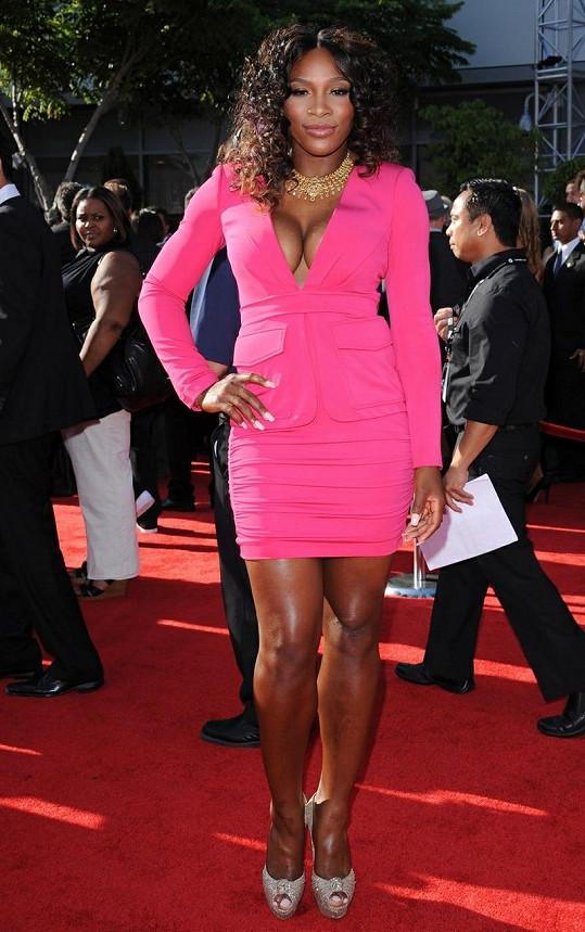 Serena Williams byla na ESPY Award pořádná kočka.