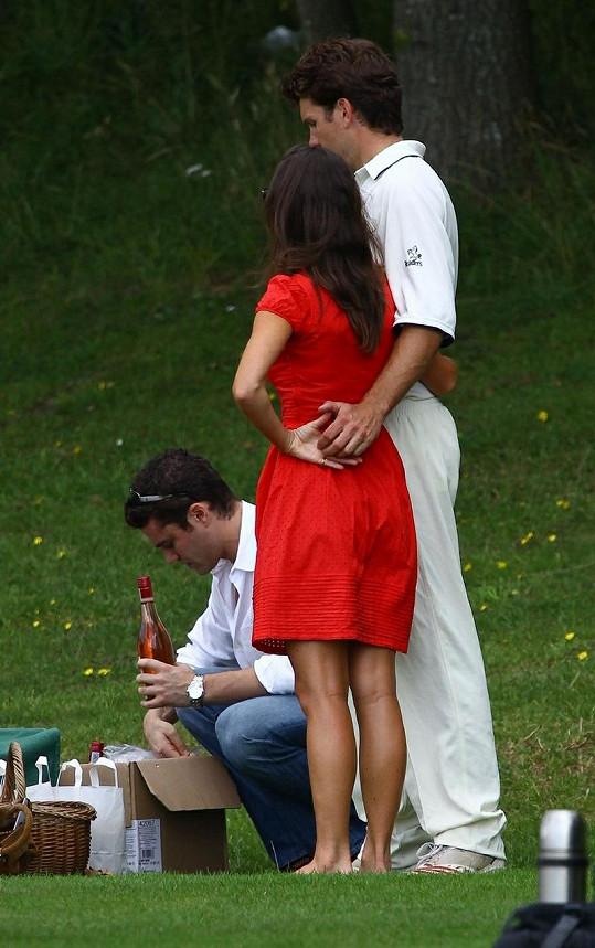 Zamilovaná Pippa Middleton a Alex Loudon.