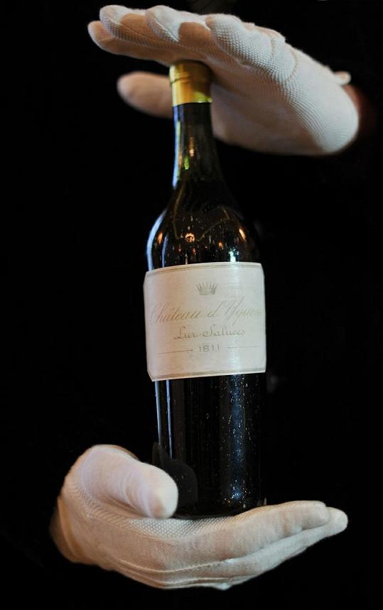 Toto je nejdražší bílé víno světa.