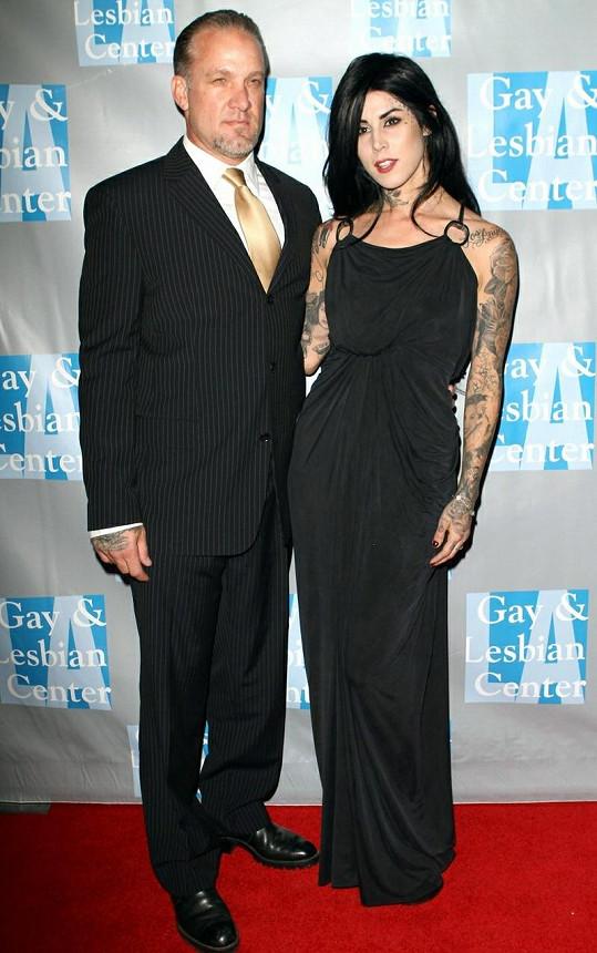 Exmanžel Sandry Bullock a potetovaná Kat von D spolu vydrželi necelý rok.
