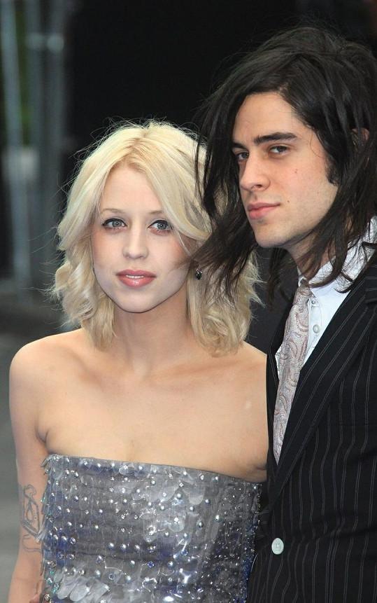 Peaches Geldof a Tom Cohen.