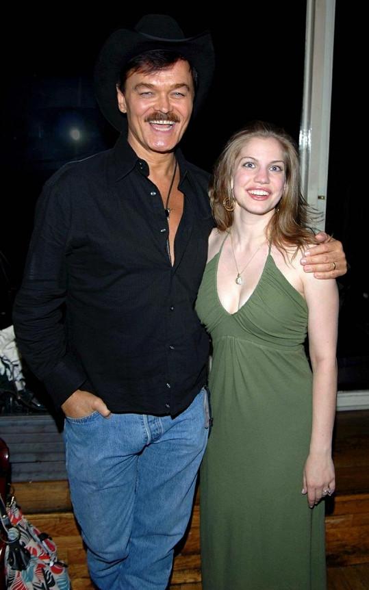 Anna a Randy Jones v roce 2007.