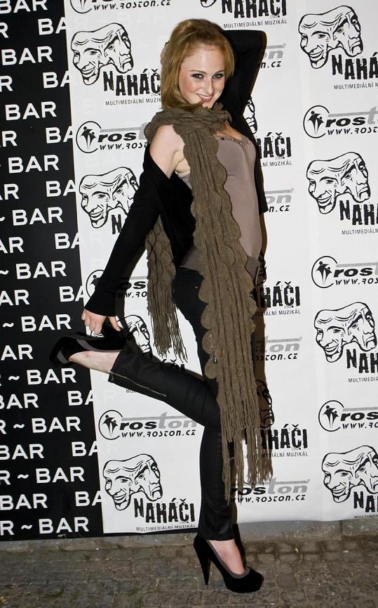 Tereza Aster Vágnerová je ozdobou každé párty.