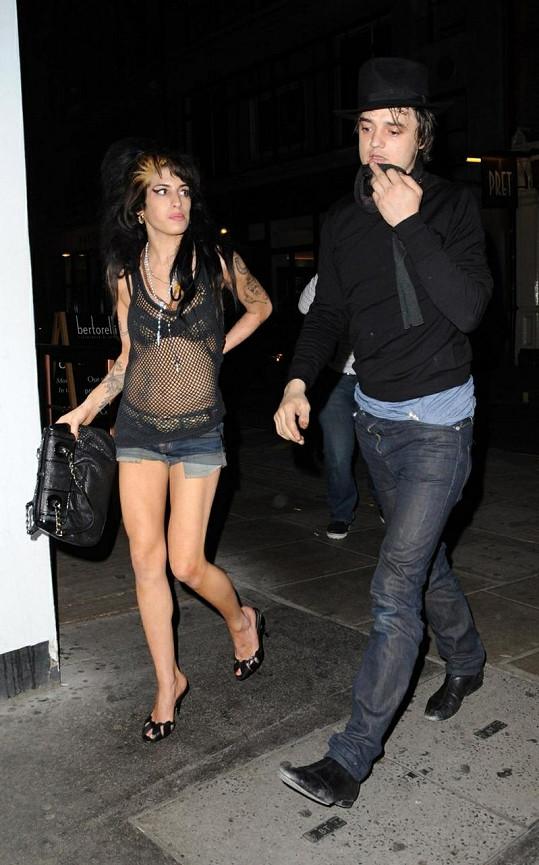 Pete a Amy v roce 2008.