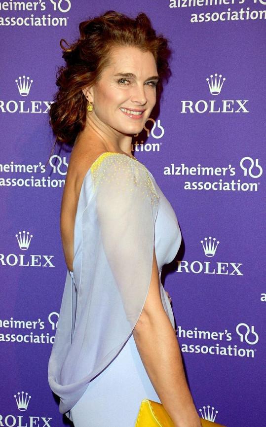 Na akci se objevila například i Brooke Shields.
