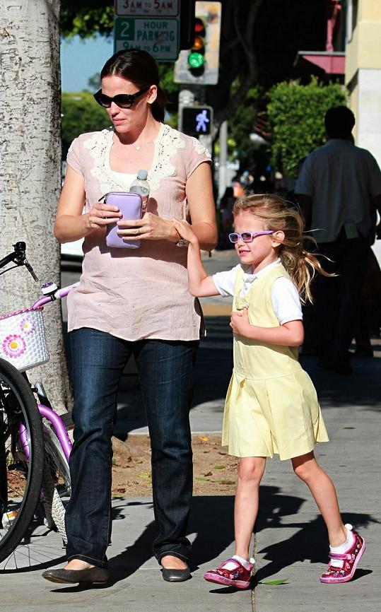Jennifer s dcerou Violet.
