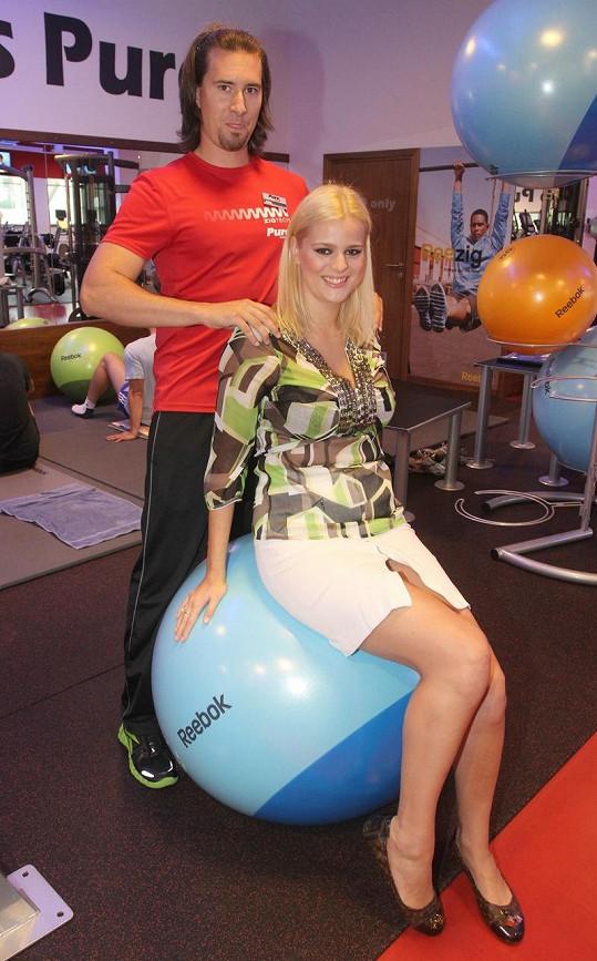 Ornella nyní začne chodit i na cvičení pro těhotné.