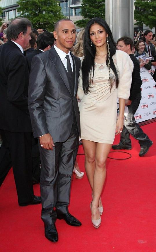 Nicole s přítelem Lewisem Hamiltonem.