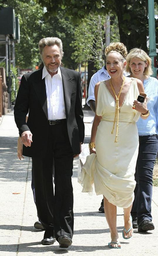 Sharon Stone a Christopher Walken.
