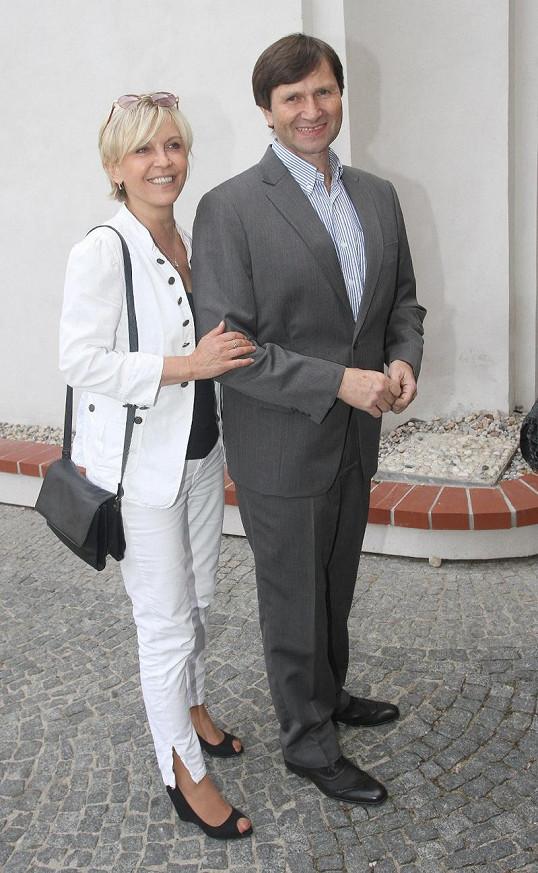 Jan Hrušínský vypadá už léta stejně.