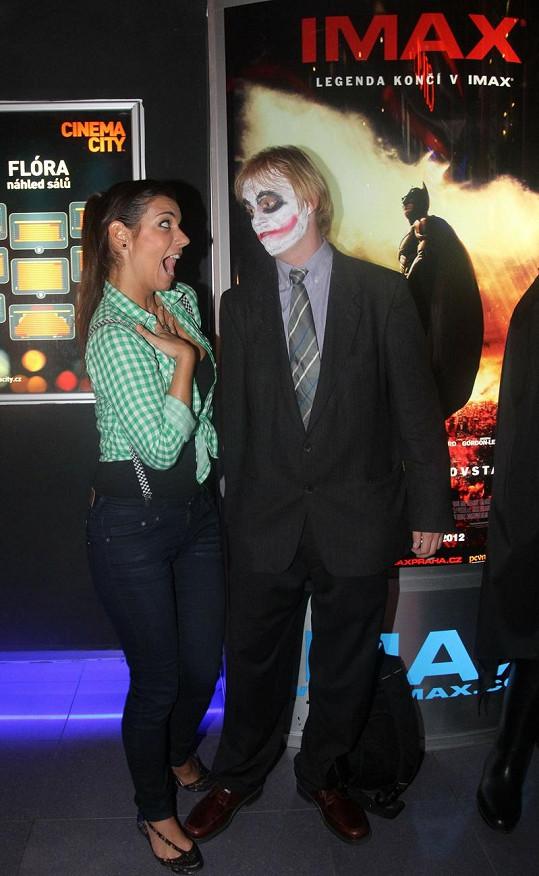 Rozdováděná Ondráčková s obávaným Jokerem.