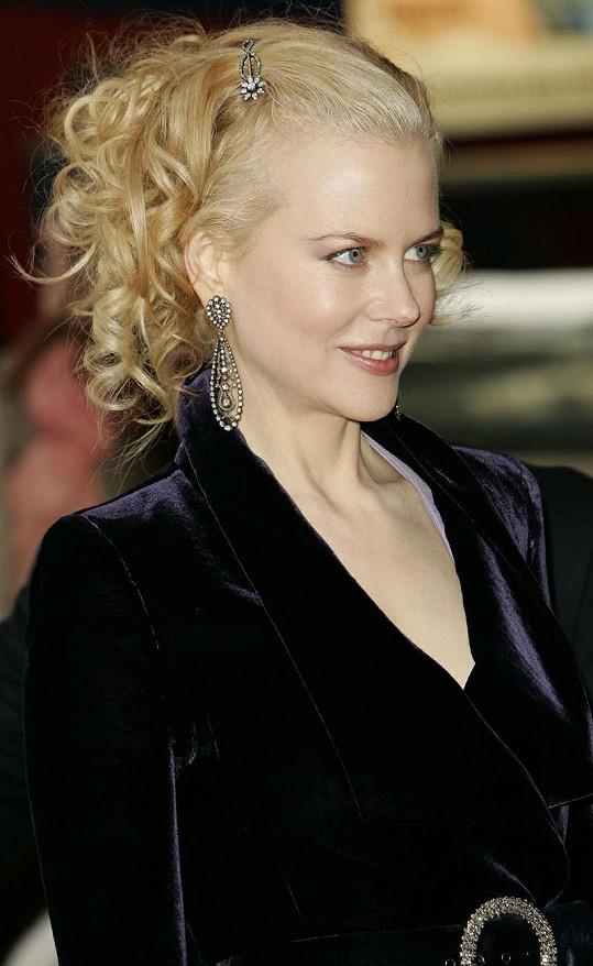 Kidman již v roce 2005 blond vlasy měla.