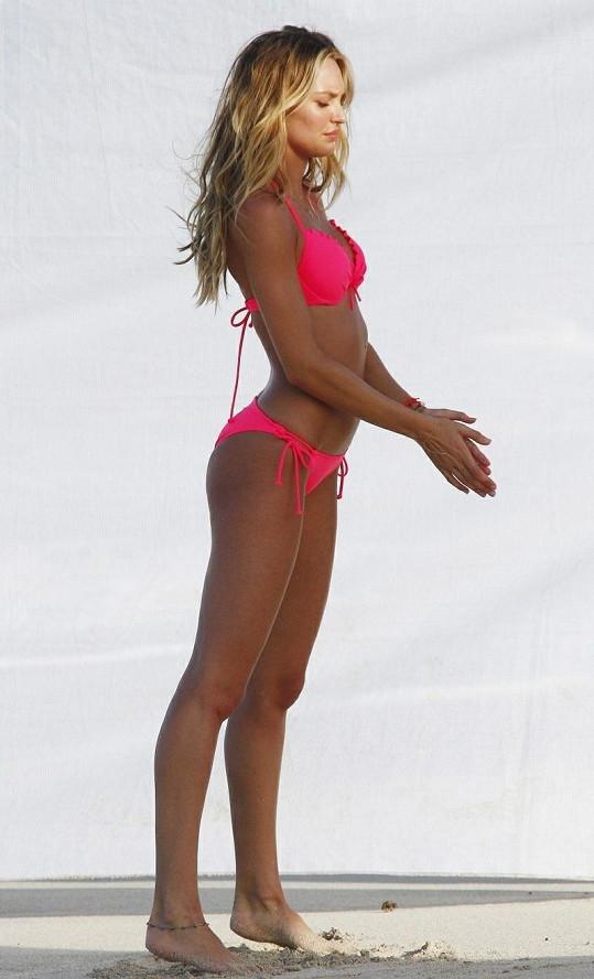 Candice patří mezi andílky značky Victoria's Secret.