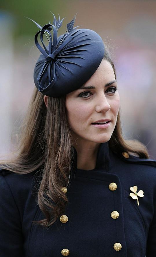 Kate,vévodkyně z Cambridge.