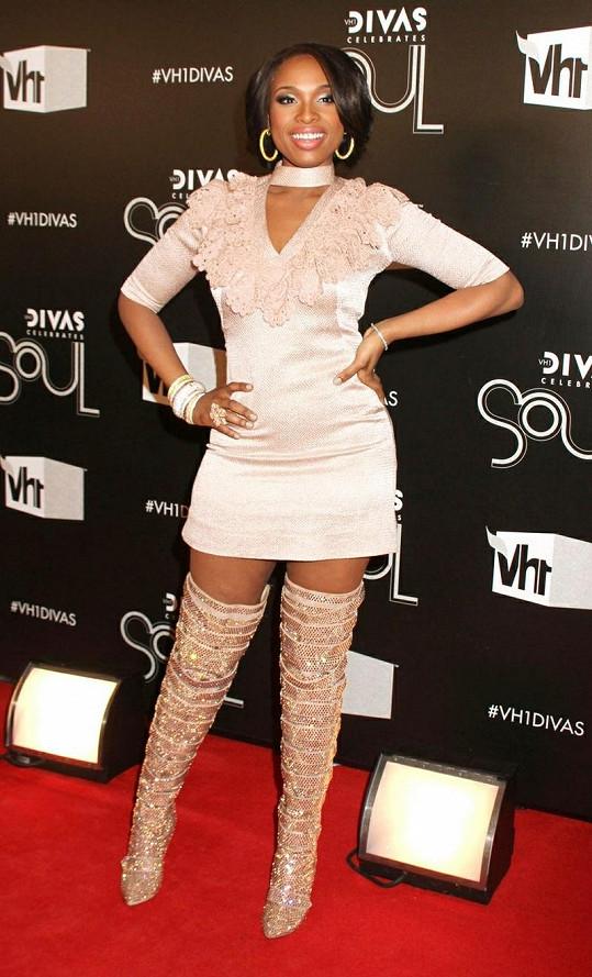 Jennifer Hudson na Divas Celebrates Soul v New Yorku.
