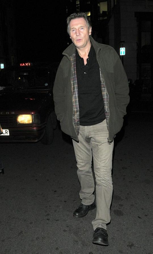 Liam Neeson a jeho malá nehoda.