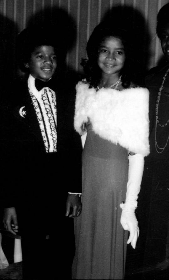 LaToya Jackson se svým bratrem Michaelem v roce 1972.