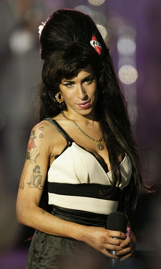 Zpěvačka Amy Winehouse