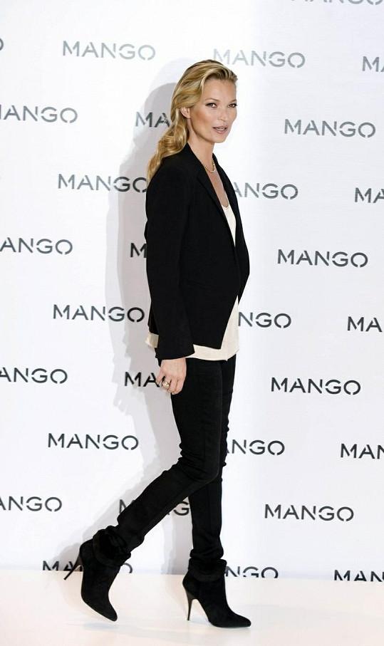 Kate se stala tváří kolekce jaro/léto 2012 značky Mango.