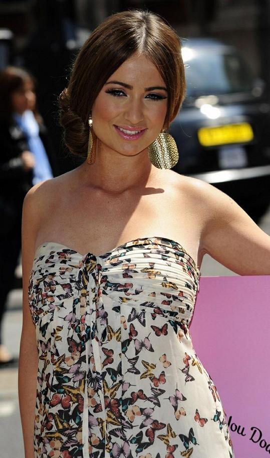 Chantelle Houghton má krásnou postavu.