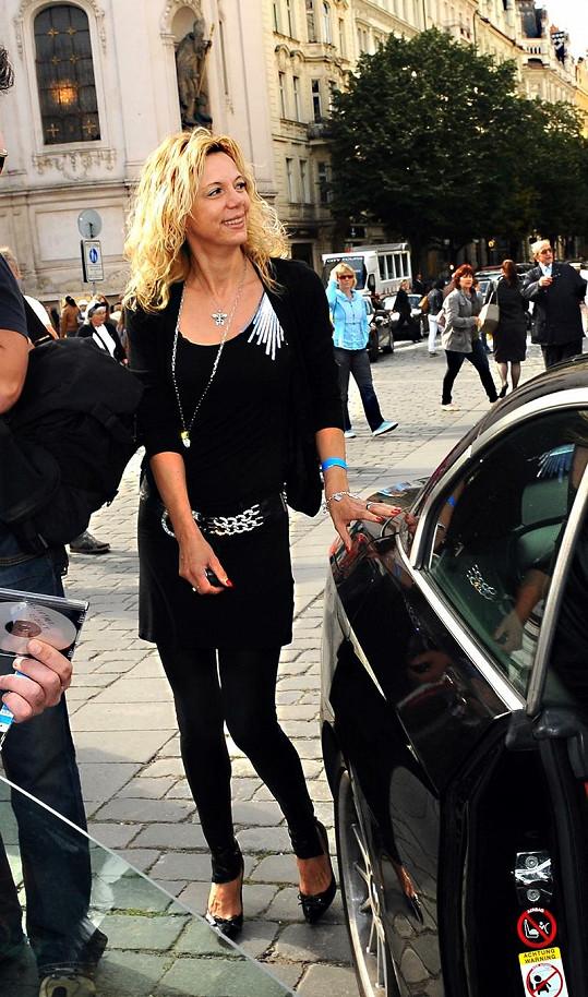Lenka Gabrielová je bývalá Domenicova přítelkyně.