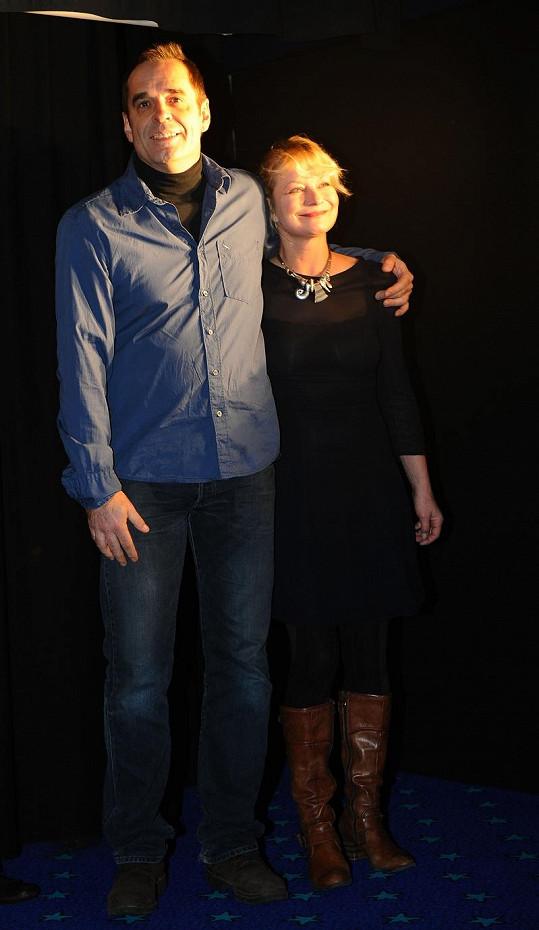 Cibulková byla vdaná za Miroslava Etzlera.