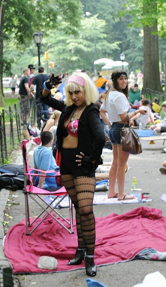 Příznivkyně Lady Gaga.