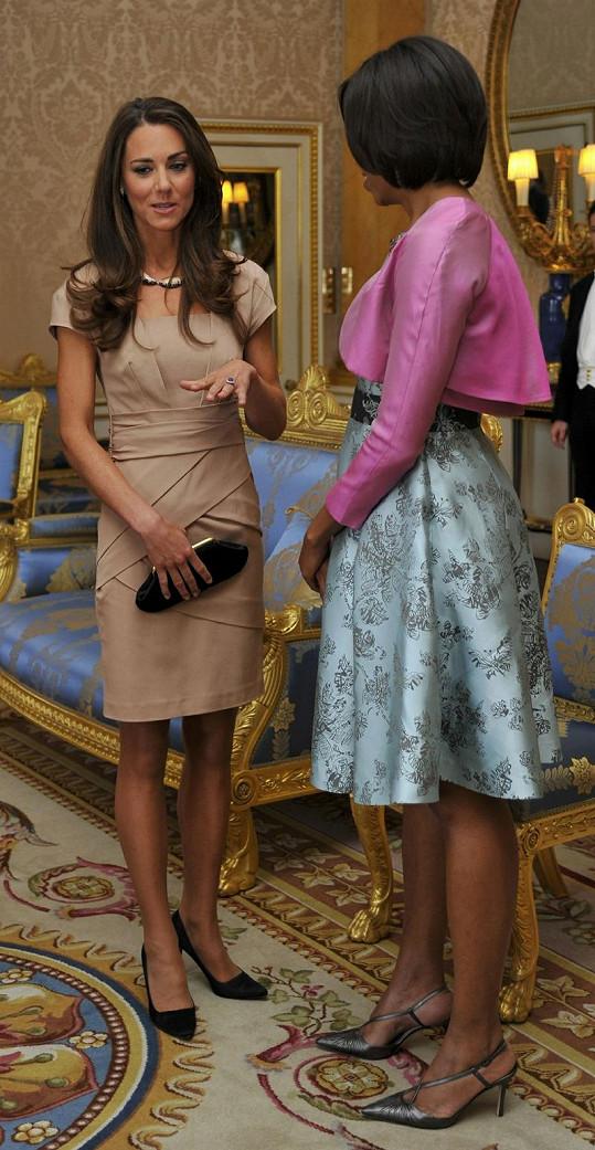 Michelle Obama a Kate, vévodkyně z Cambridge.