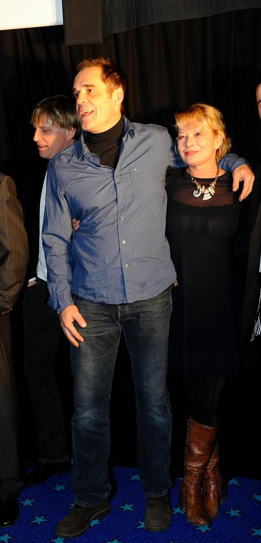 Miroslav Etzler s manželkou Vilmou Cibulkovou.