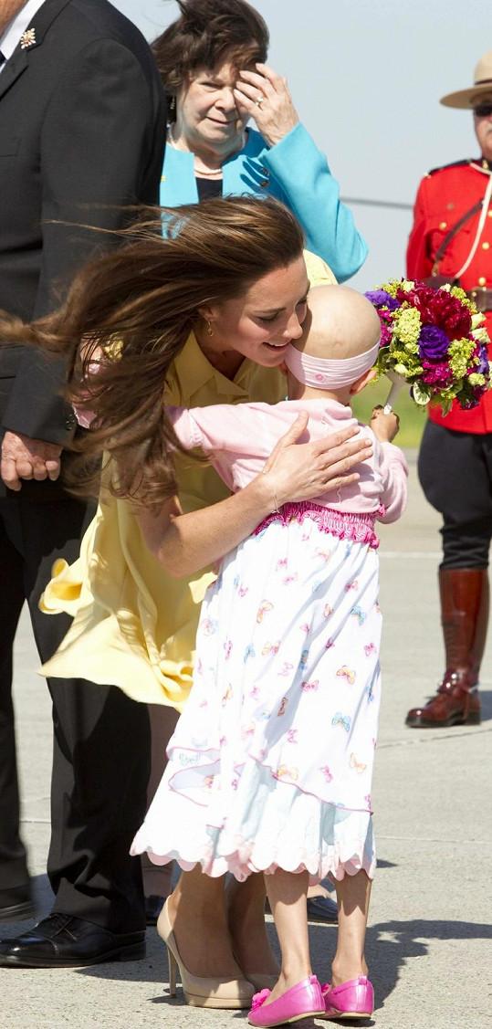 Splněný sen: Vážně nemocná dívka se konečně setkala s princeznou.