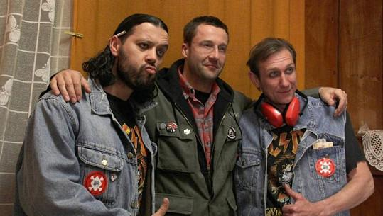 Michal Kavalčík a Jan Antonín Duchoslav na natáčení nezapomenou.