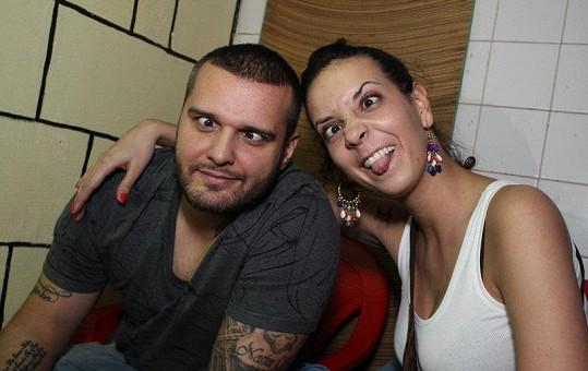 Renata s Patrikem spolu nedělají jen hudbu, ale i blbosti.
