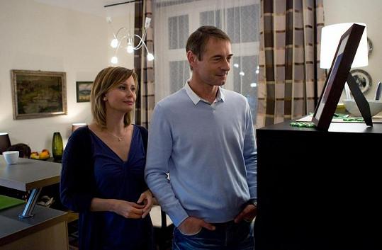 Jitka Schneiderová i Jiří Dvořák patří mezi nováčky mezi hereckým obsazením seriálu Sanitka 2.