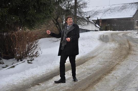 Vojta si zahrál jednu z hlavních rolí a k filmu nazpíval i píseň.