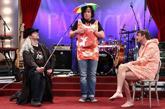 Vojta Dyk, Richard Genzer a Igor Chmela ví, jak diváky pobavit.