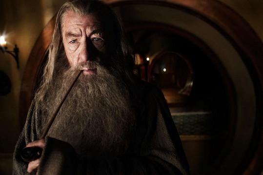 Gandalfa Šedého ztvárnil Ian McKellen.