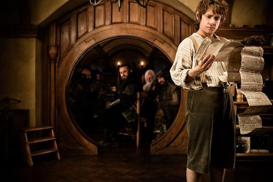 Bilbo Pytlík v pojetí Martina Freemana.