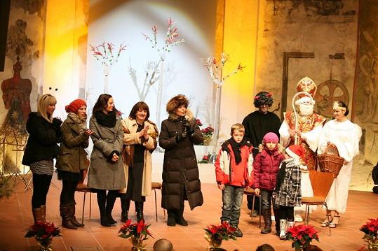 Loňského Mikulášského bazaru se zúčastnilo mnoho známých tváří.
